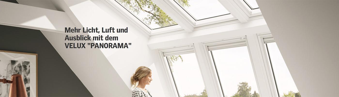 Velux panorama j rg schuchardt bedachungsgesellschft - Dachfenster panorama ...
