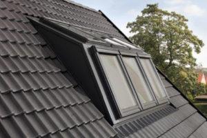 Dachfenster Velux Panorama Außenansicht