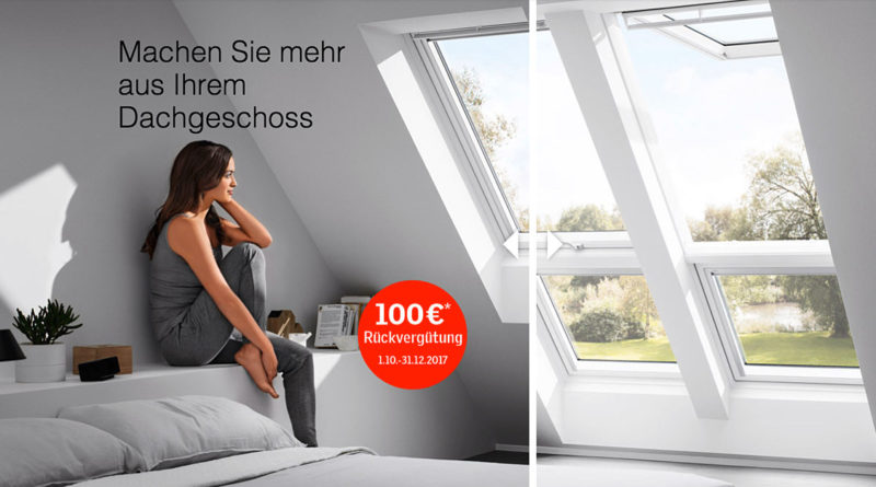 velux dachfenster aktion